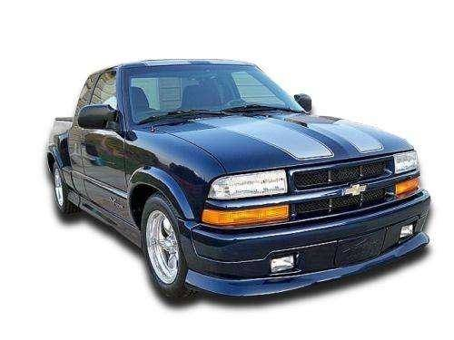 ex spec style front lip fits chevrolet s 10 1994 2004. Black Bedroom Furniture Sets. Home Design Ideas