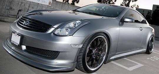 Infiniti G35 2DR Coupe 2006-2007 IL Spec Style 1 Piece Polyurethane ...