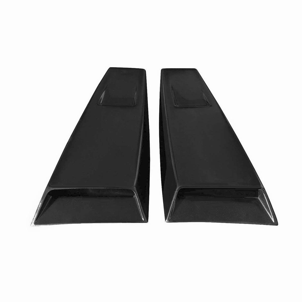 Ford Mustang 2005-2009 K Spec Style 2 Piece Polyurethane Window Scoops
