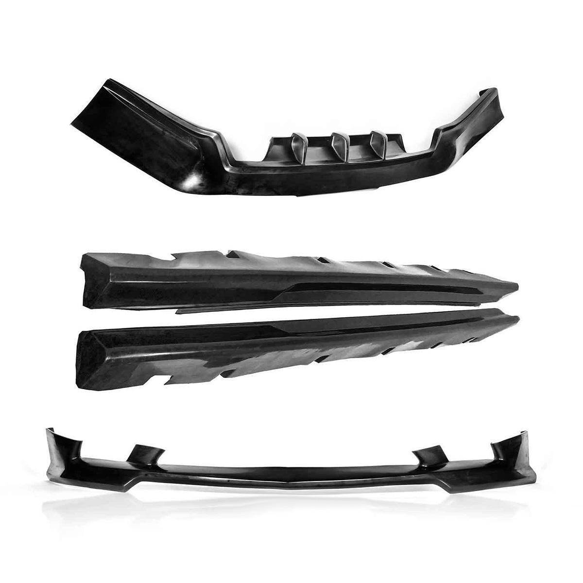 Dodge Charger 2011-2013 Premier Style 4 Piece Polyurethane Full Body Kit