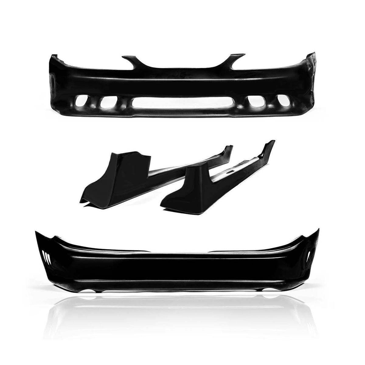 Ford Mustang 1994-1998 Sallen Style 4 Piece Polyurethane Full Body Kit