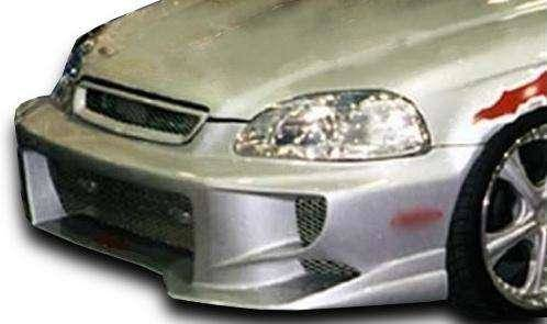Honda Civic ALL 1996-1998 EX Spec Style 1 Piece Polyurethane Front Bumper