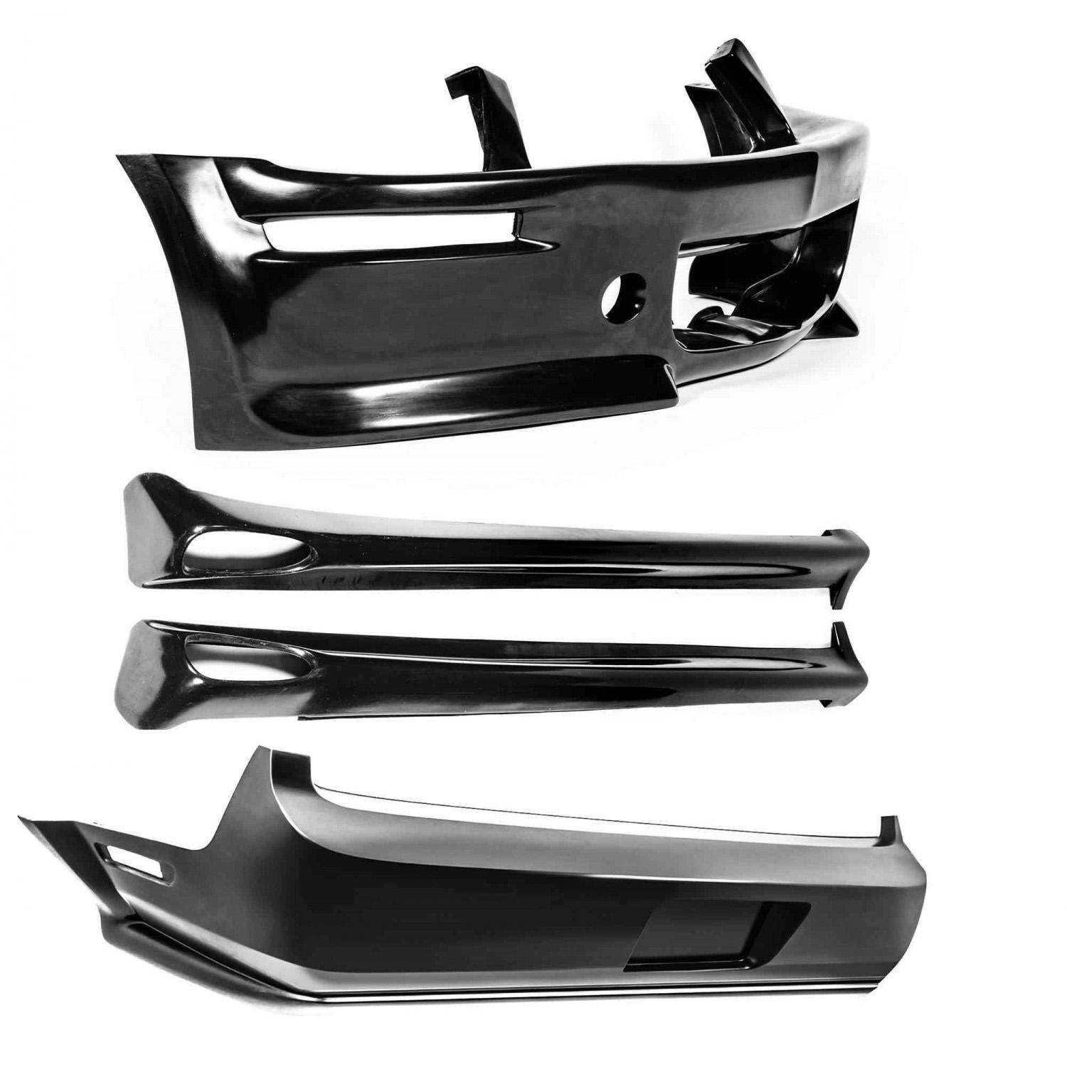 Ford Mustang 2005-2009 Eleanor Style 4 Piece Polyurethane Full Body Kit