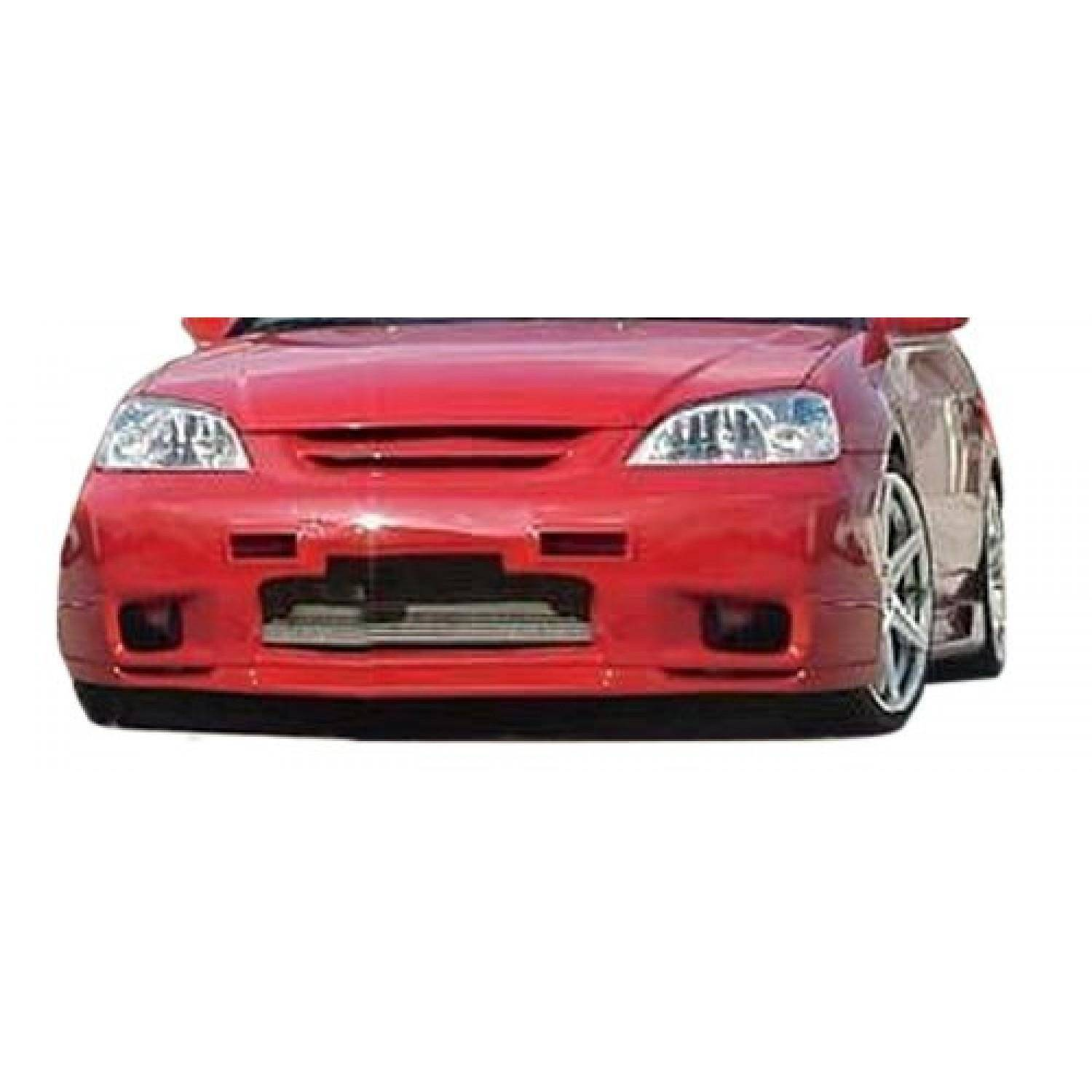 Honda Civic ALL 2001-2003 SL Spec Style 1 Piece Polyurethane Front Bumper