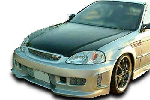 Honda Civic ALL 1996-1998 BW Spec Style 1 Piece Polyurethane Front Bumper