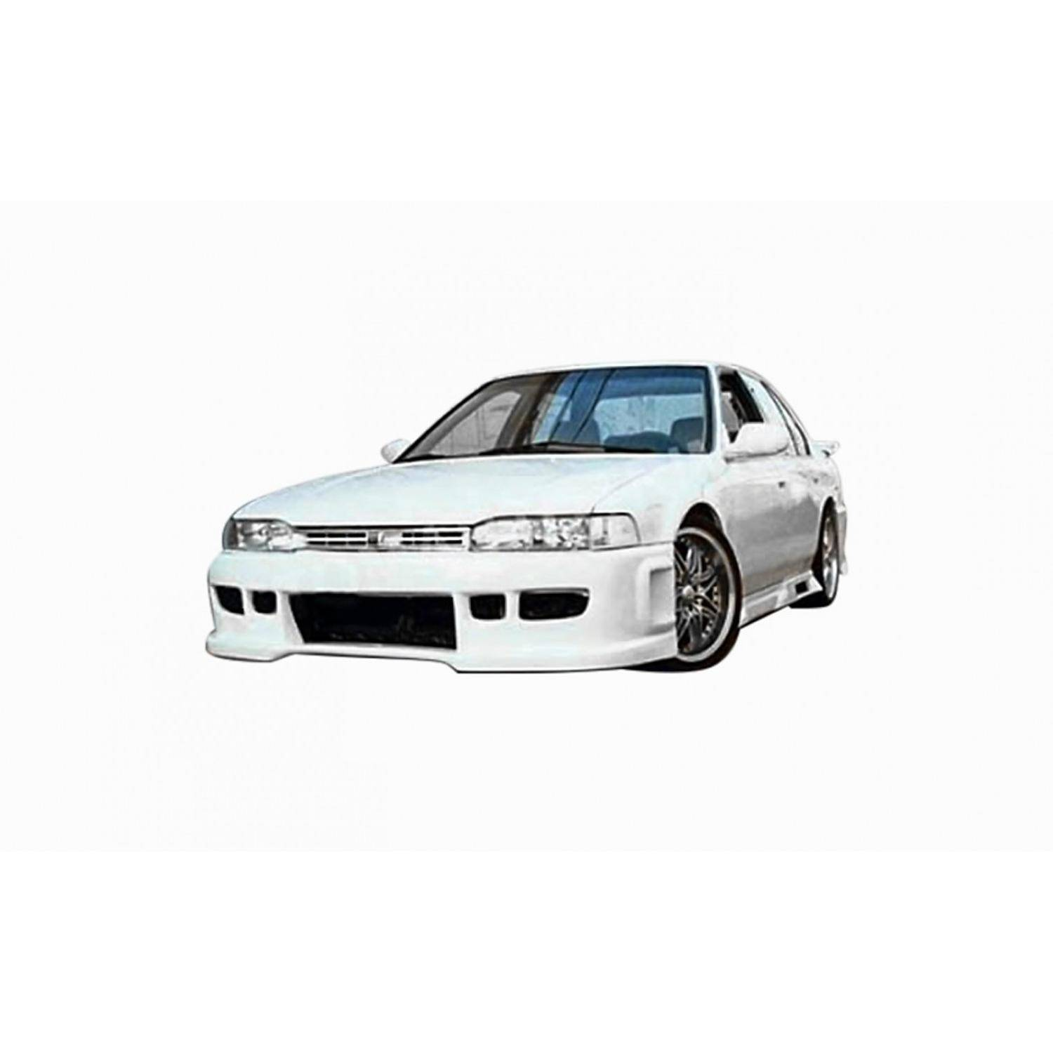 Honda Accord 1990-1993 BW Spec Style 1 Piece Polyurethane Front Bumper