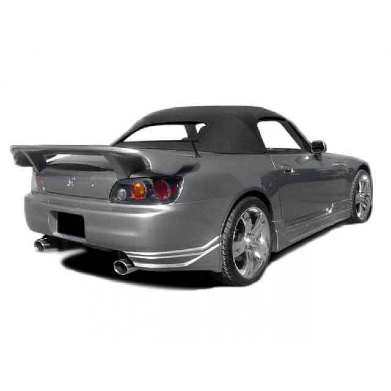 Polyurethane Honda S2000 2000 2009 Rear Bumpers Kbd Body Kits