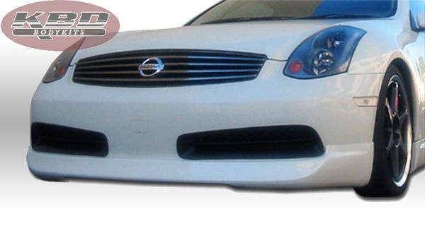 Infiniti G35 2DR Coupe 2003-2005 ING Style 4 Piece Polyurethane Full Body Kit