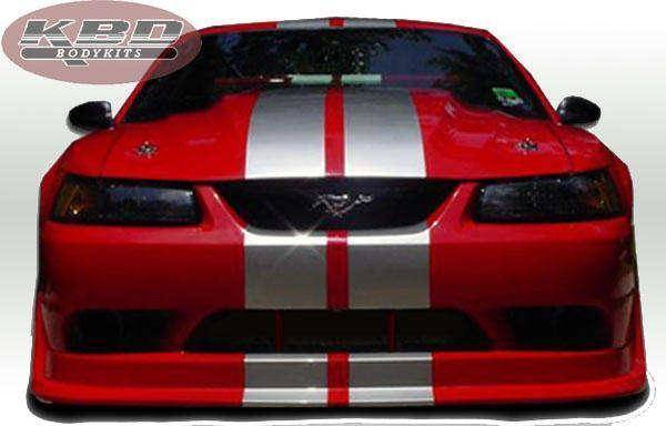 Ford Mustang 1999-2004 Cobra R Style 4 Piece Polyurethane Full Body Kit