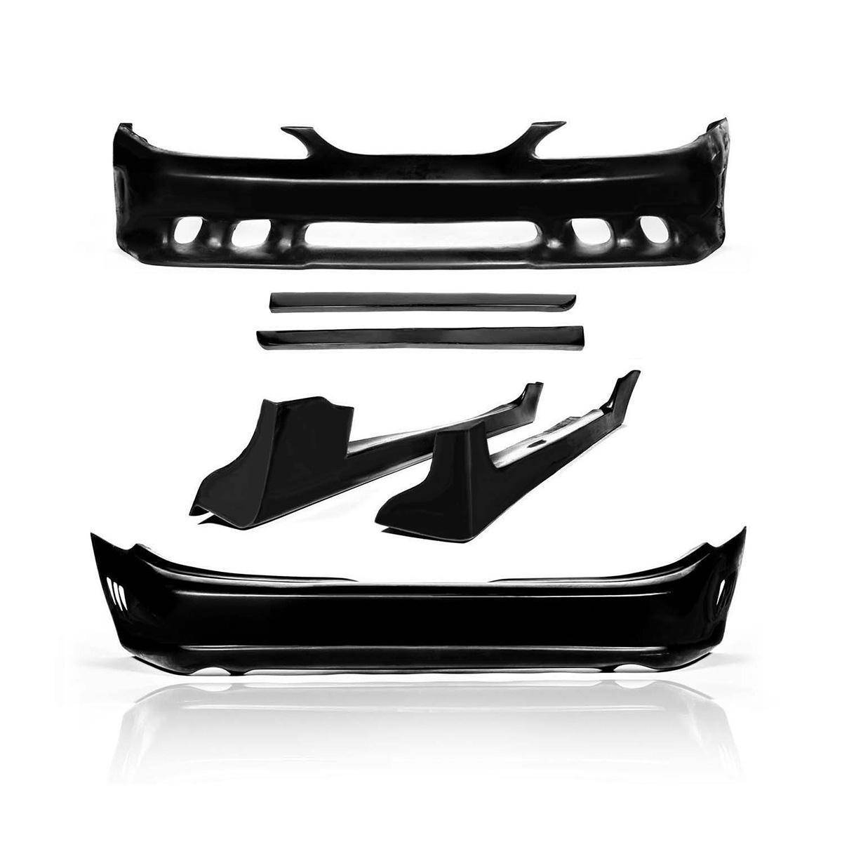 Ford Mustang 1994-1998 Sallen Style 6 Piece Polyurethane Full Body Kit