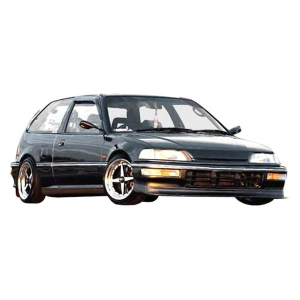 Honda Civic HB 1990-1991 Sir Spec Style 1 Piece Polyurethane Front Lip