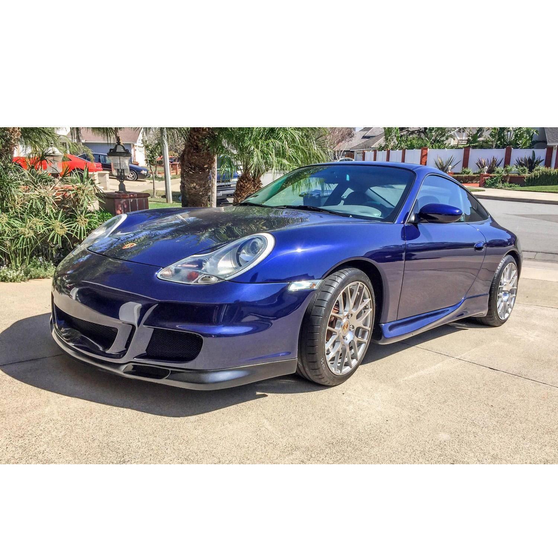 Porsche 996 1999-2001 (Porsche Boxster 1997-2004) GT 3 Look Style 1 Piece Polyurethane Front Bumper & Lip