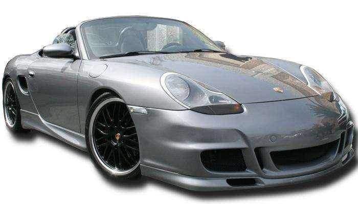 Porsche 996 1999 2001 Porsche Boxster 1997 2004 Gt 3 Look Style 1 Piece Polyurethane Front Lip