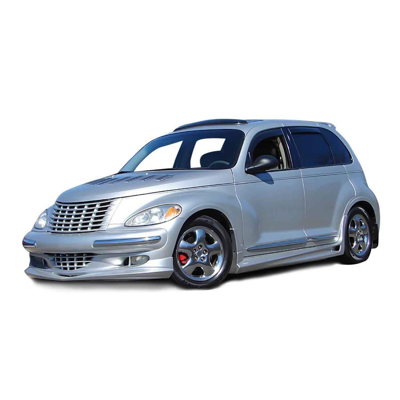 Pt Cruiser Bumpers : Chrysler pt cruiser  bomb style kbd polyurethane