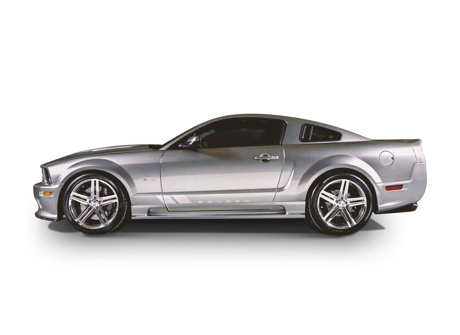 Ford Mustang 2005-2009 Sallen Style 7 Piece Polyurethane Full Body Kit