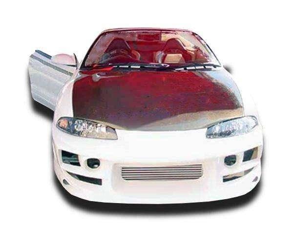 Mitsubishi Eclipse 1995-1999 (Eagle Talon 1995-1998) Bomb Style 4 Piece Polyurethane Full Body Kit