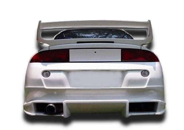 Mitsubishi Eclipse 1995-1999 (Eagle Talon 1995-1998) Bomb Style 1 Piece Polyurethane Rear Bumper