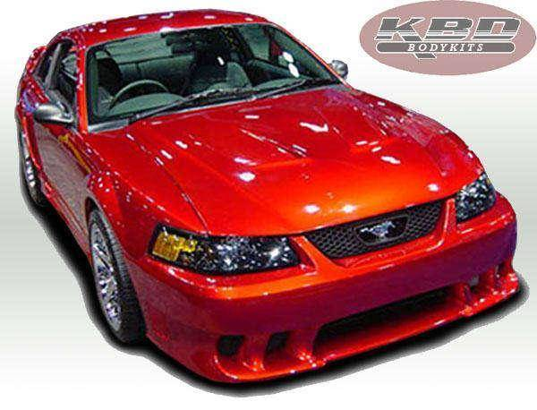 Ford Mustang 1999-2004 Sallen Style 4 Piece Polyurethane Full Body Kit