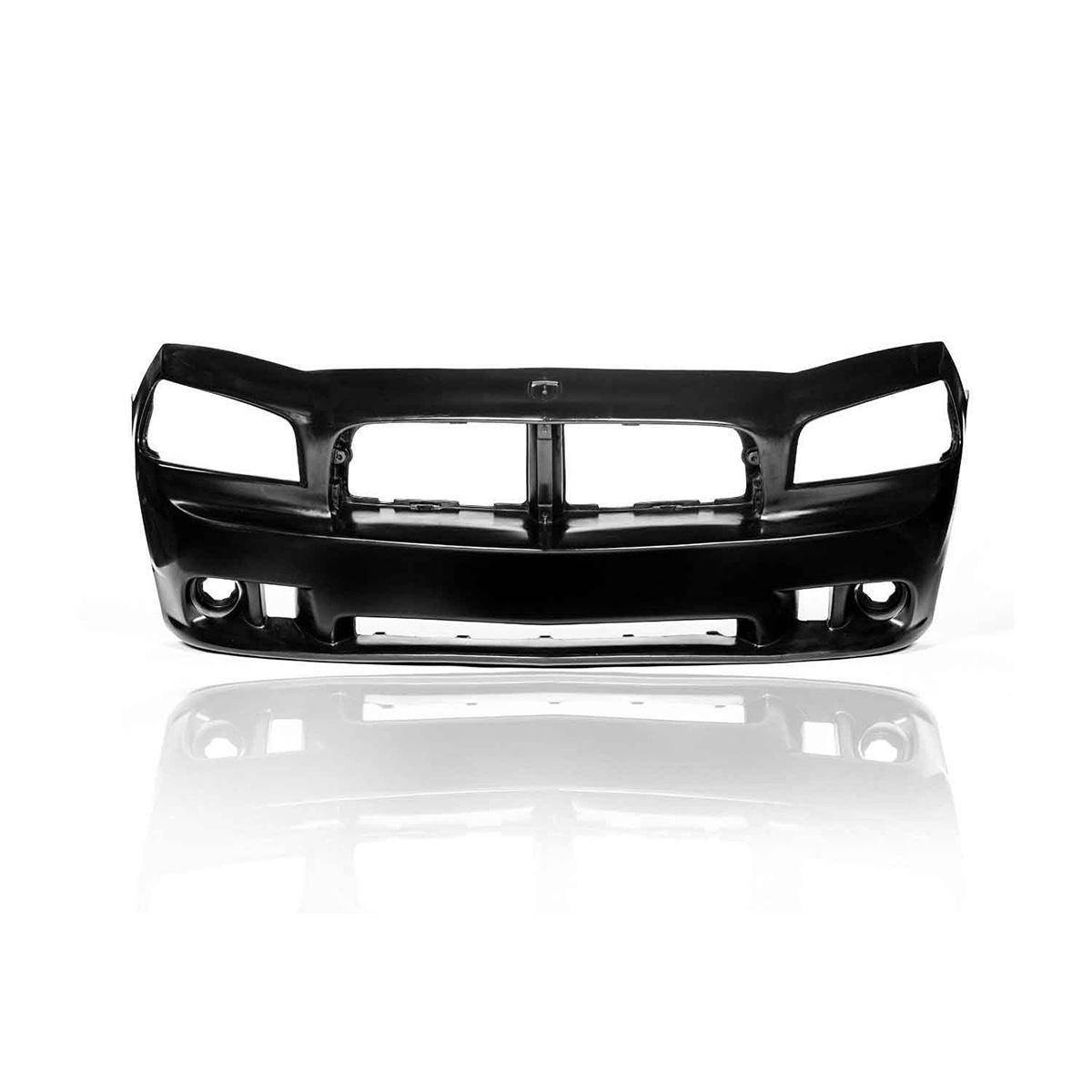 Dodge Charger 2006-2010 SRT Look Style 1 Piece Polyurethane Front Bumper
