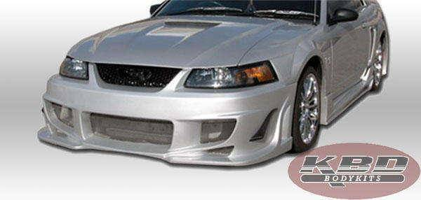 Ford Mustang 1999-2004 V Spec Style 4 Piece Polyurethane Full Body Kit