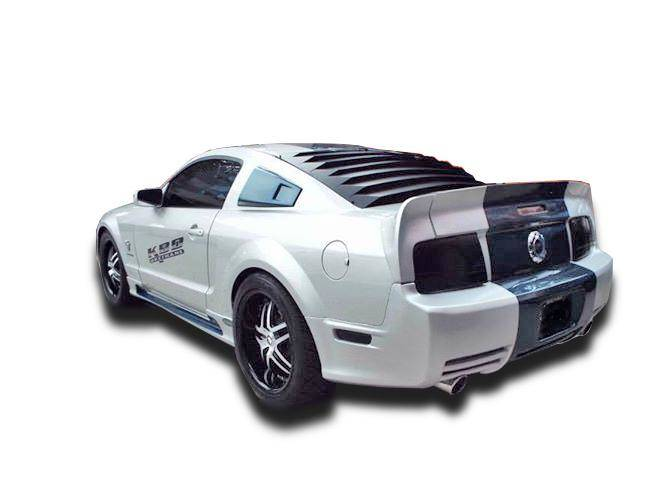 Ford Mustang 2005-2009 Eleanor Style 3 Piece Polyurethane Rear Wing Spoiler