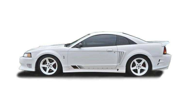 Ford Mustang 1999-2004 Sallen Style 2 Piece Polyurethane Side Skirts - Pair