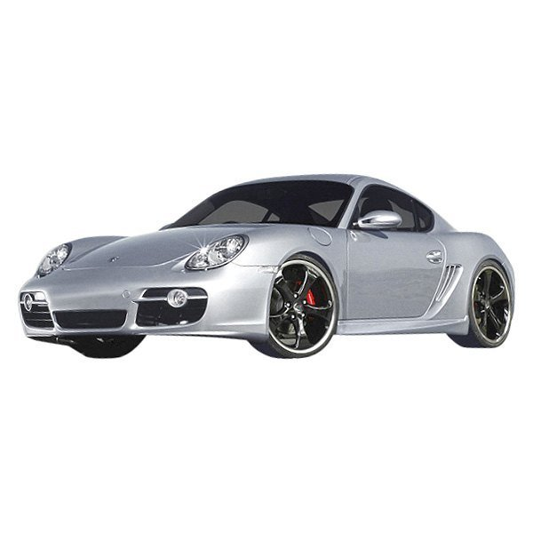 Polyurethane Porsche Boxster 2005-2012 Side Skirts