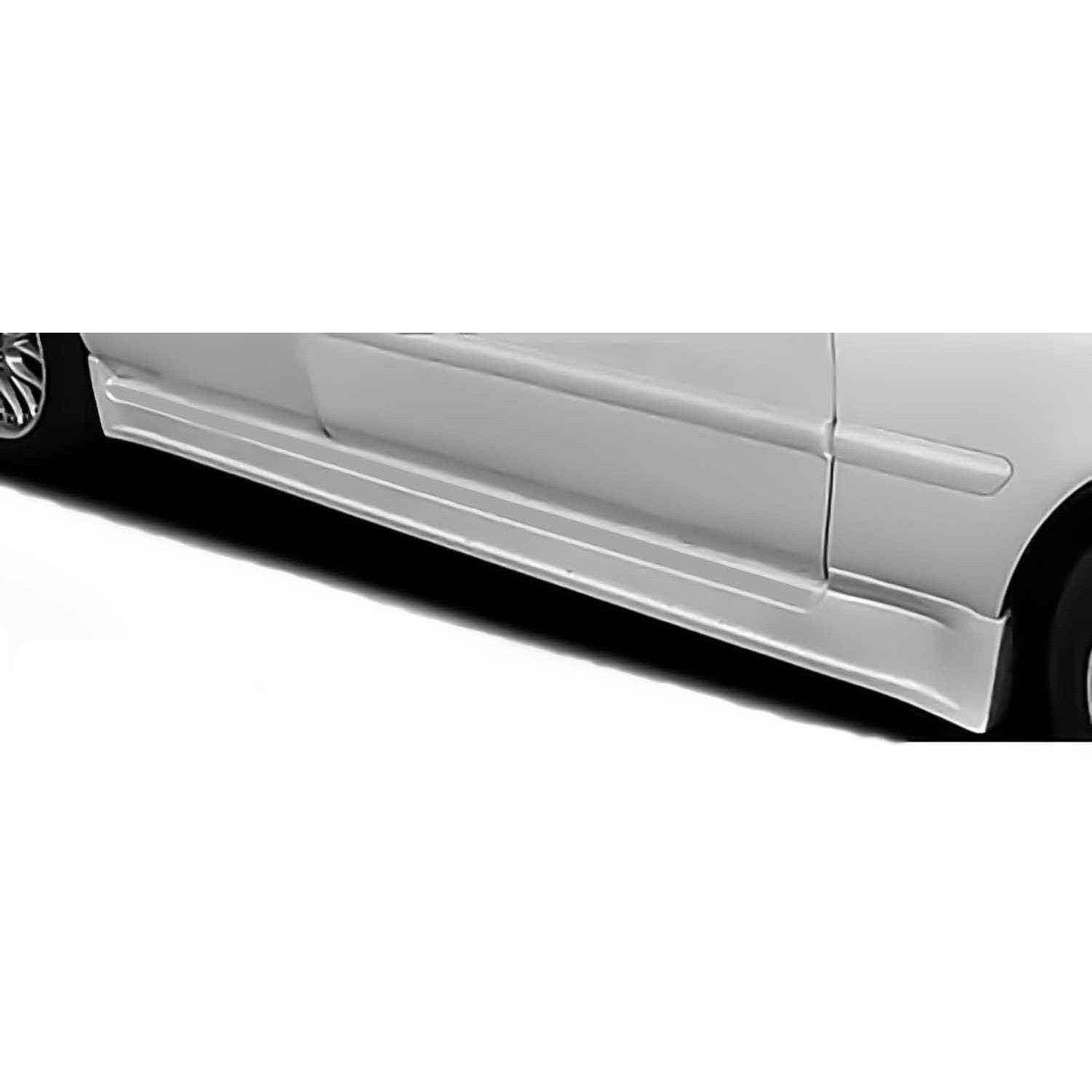 Acura TL 1996-1998 Type S Style 2 Piece Polyurethane Side Skirts - Pair