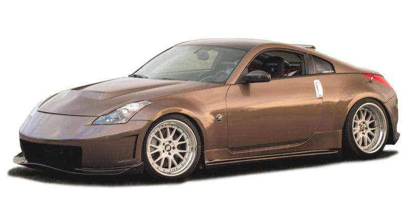 Nissan 350Z 2003-2008 N3-R Style 4 Piece Polyurethane Full Body Kit 37-6609