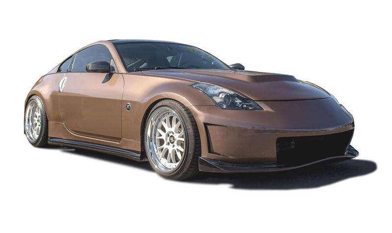 Nissan 350z 2003 2008 N3 R Style 4 Piece Polyurethane Full