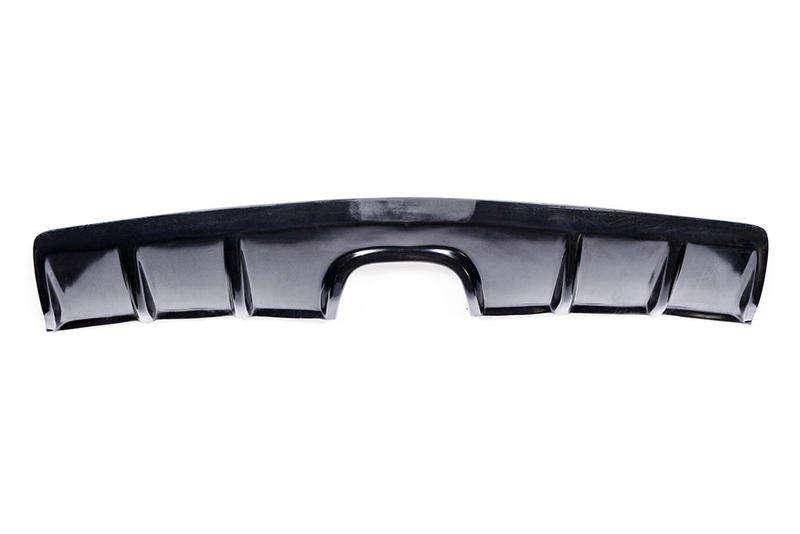 Chevrolet Camaro 2010-2013 Zin Style 1 Piece Polyurethane Center Exhaust Rear Diffuser