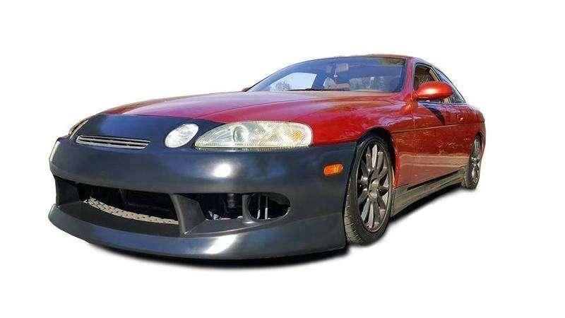 1992-2000 Lexus SC SC300 SC400 VTX Style 4 Piece Polyurethane Full Body Kit