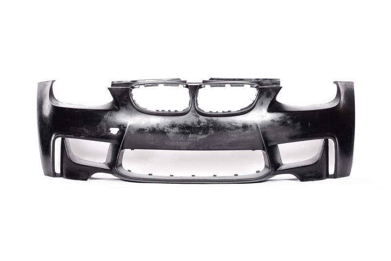 BMW M3 E90 / E92 / E93 2007-2013 1M Style 1 Piece Polyurethane Front Bumper