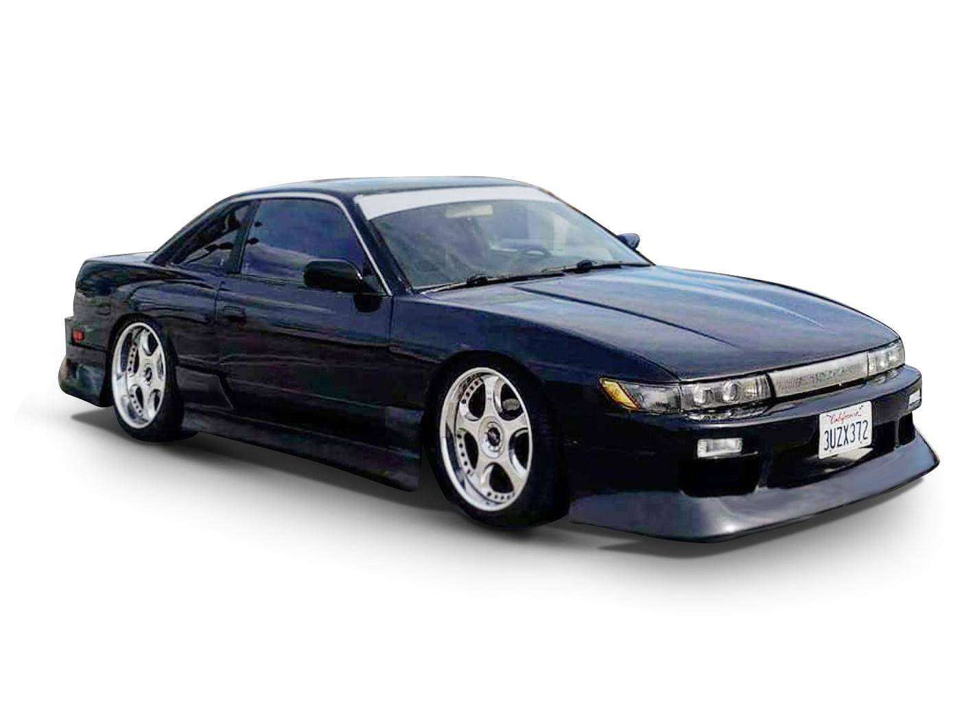 Details about KBD Body Kit Bsport Polyurethane Front Bumper Fits Nissan  240SX S13 Silvia 89-94